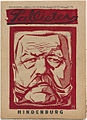 Weekblad Pallieter - voorpagina 1925 19 hindenburg.jpg