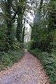 Weg naast park kasteel Voorde.JPG