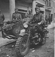 Wehrmachtsgespann