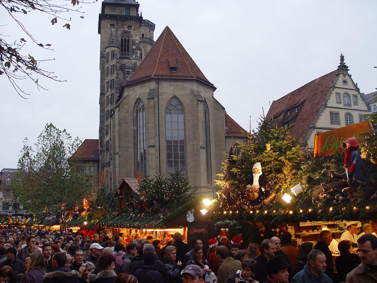 Wo Ist Der Größte Weihnachtsmarkt.Stuttgarter Weihnachtsmarkt Wikipedia