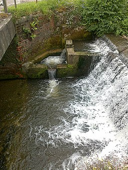 Weir on the River Lim - geograph.org.uk - 1317359