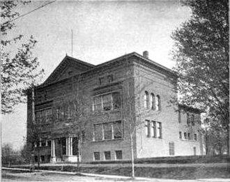 Adonijah Welch - Welch Hall in 1899