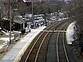 Wellesley Hills station from Cliff Road, March 2013.JPG