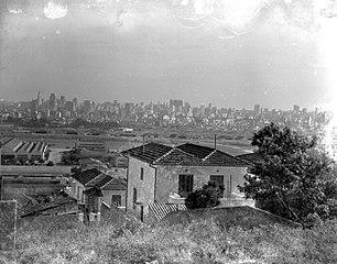 Vista panorâmica da cidade. São Paulo/SP