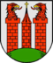 coat of arms of the city of Wesenberg (Mecklenburg)