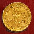 West Friesland, gouden dubbele dukaat 1753, Hoorn.JPG