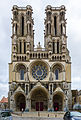 West facade of the Laon cathedral-5639.jpg