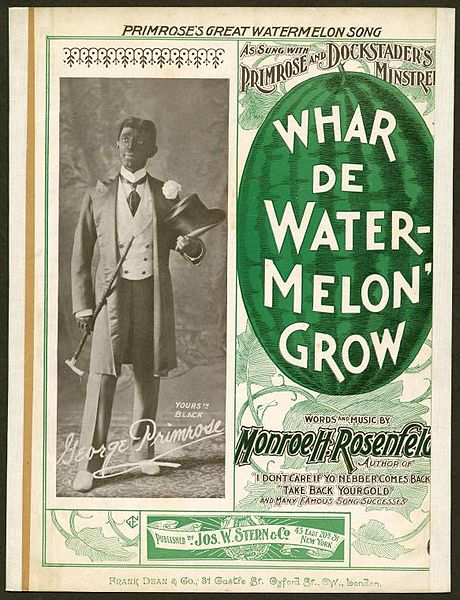 http://upload.wikimedia.org/wikipedia/commons/thumb/e/e9/Whar_de_watermelon_grow.jpg/460px-Whar_de_watermelon_grow.jpg