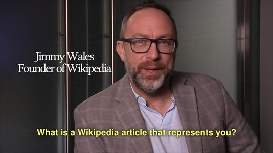 File:What is a Wikipedia article that represents you?.webm