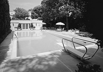 White House Swimming Pool Wikipedia