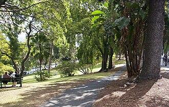 Spring Hill, Queensland - Wickham Park