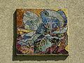Wien-Penzing - Gemeindebau Hadikgasse 268-272 Stiege 9 - Mosaik Kohl - Josef Lacina 1953-54.jpg