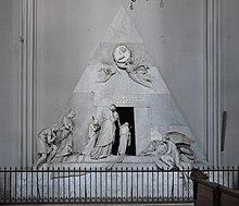 Kenotaph der Marie Christine von Österreich in der Augustinerkirche in Wien (Quelle: Wikimedia)