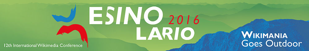 Wikimania Esino Lario 2016 (logo for the bid).jpg