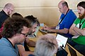 Wikimedia Hackathon Vienna 2017-05-19 Hacking Gurkerl 008.jpg