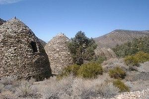 Panamint Range - Wildrose Charcoal Kilns.