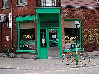 Wilenskys building in Quebec, Canada