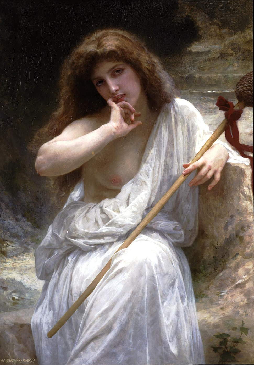 William-Adolphe Bouguereau (1825-1905) - Mailice (1899)