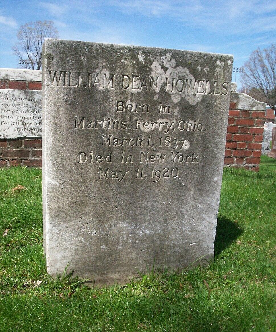 William Dean Howells grave