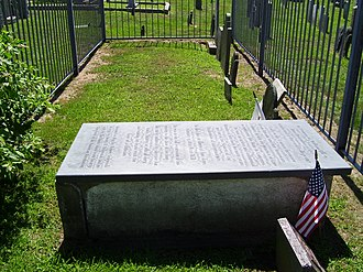 William Ellery - Image: William Ellery tomb