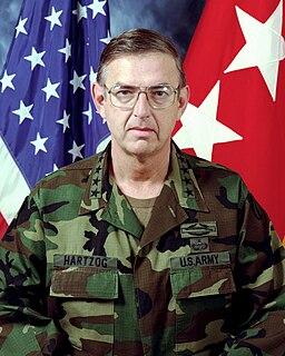 William W. Hartzog US Army general