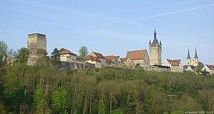 Bad Wimpfen - Image: Wimpfen burgviertel panoram