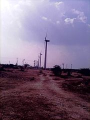 Windmills for Electricity Generation in a Coimbatore District