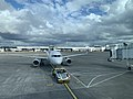 Window view from waiting area in Glasgow International Airport 05.jpg