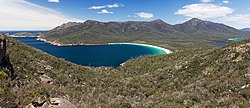 Wineglass Bay auf der Halbinsel Freycinet