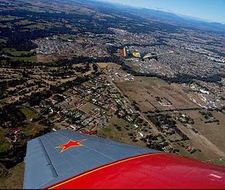 Wangaratta City in Victoria, Australia