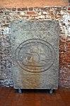 Wismar, St. Georgen, Grabplatte. 2.JPG