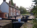 Wolverhampton Top Lock and Keeper's Buildings - geograph.org.uk - 361579.jpg