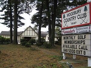 Woodbury Country Club - Image: Woodbury Country Club 1