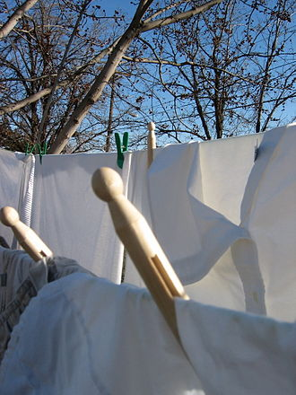 Clothes line - Sundrying in Hermiston, Oregon.