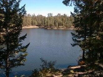 Woods Canyon Lake - Image: Woodscynlake