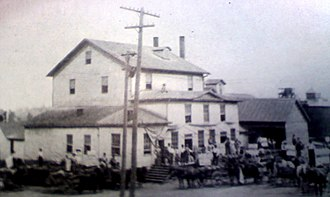 Harrisburg, Illinois - Woolcott Milling Company, 1898.