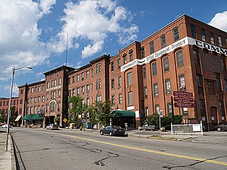 Washburn and Moen North Works District United States historic place