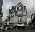 Wuppertal, Bahnstr. 2, von SW, öffentliche Uhr.jpg