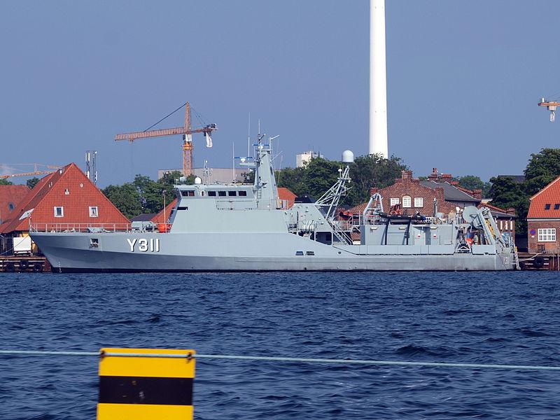 Y311 Søløven i København