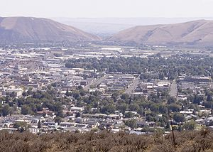 Yakima, WA, from Lookout Point