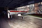 Yakovlev Yak-18 Yakovlev Yak-18T cn 368 CCCP-81434 Yakovlev Museum Moscow Sep93 (17149473402).jpg