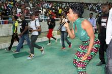 220px Yemi Alade performing for 50%2C000 fans in Benjamin Mkapa National Stadium%2C Dar es Salaam%2C Tanzania