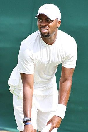 Donald Young (tennis) - Young at the 2017 Wimbledon Championships