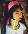 Young lady of the longneck tribe in Thailand 2.jpg