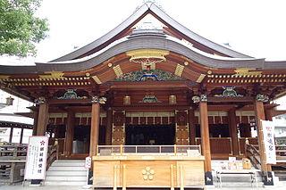 Yushima Tenmangū Shinto shrine in Tokyo, Japan