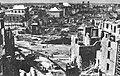Zabudowa parzystej strony ul. Miodowej w Warszawie po wojnie.jpg