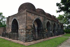 Bansberia - Zafar Khan Ghazi Masjid at Tribeni.