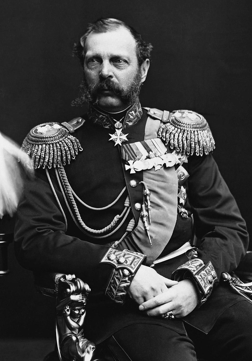 Zar Alexander II (cropped)