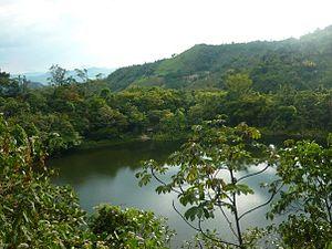 La Vega, Cundinamarca - Image: Zeuz laguna tabacal la vega cundinamarca 2