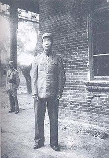 Zhou Baozhong Chinese General